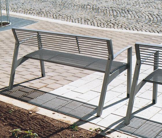 vera Parkbank von mmcité | Außenbänke