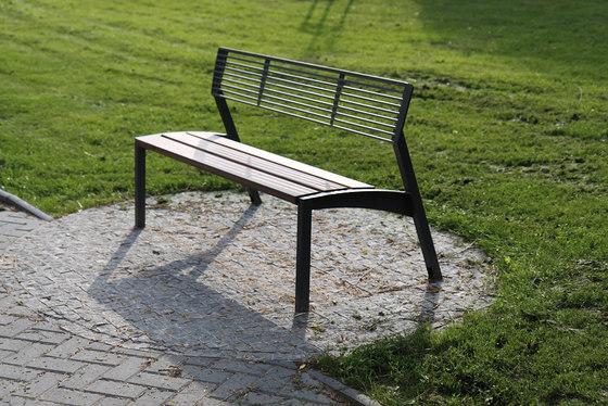 vera Park bench by mmcité | Exterior benches