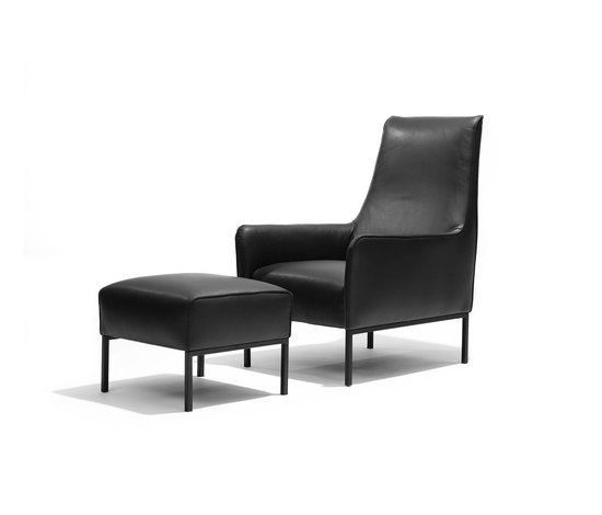 Romeo and Giulia armchair/footstool* di Linteloo | Poltrone lounge