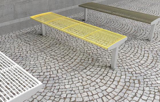 vera solo Park bench by mmcité | Exterior benches