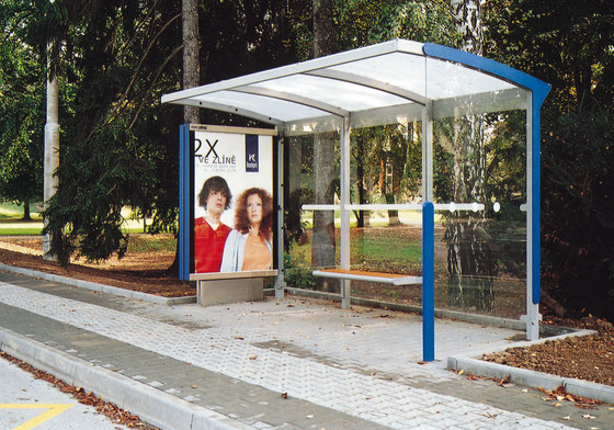 aureo Bus stop shelter by mmcité | Bus stop shelters