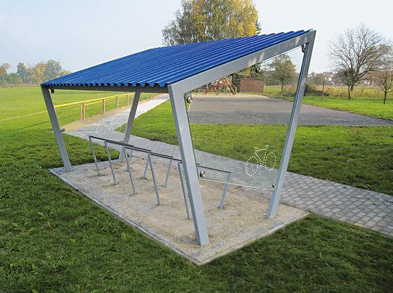 edge | Bicycle shelter di mmcité | Ripari per biciclette