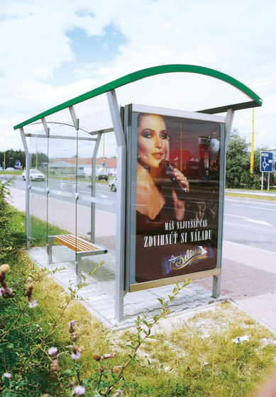 nimbus | Bus stop shelter di mmcité | Fermate degli autobus