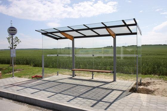 regio | Abribus à toit plat de mmcité | Arrêts de bus