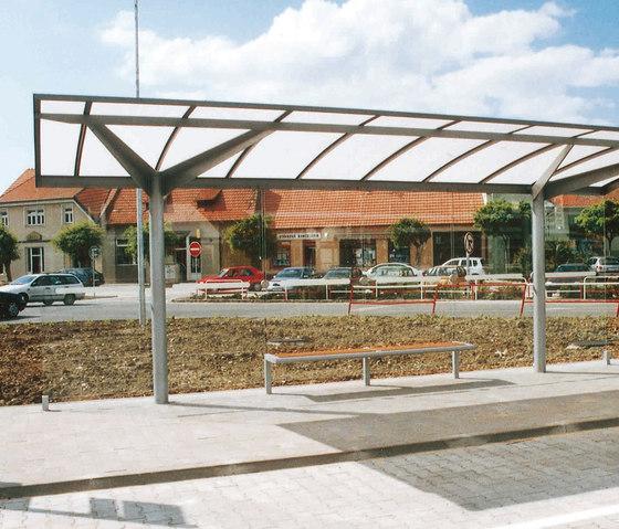 regio Bus stop shelter di mmcité | Fermate degli autobus