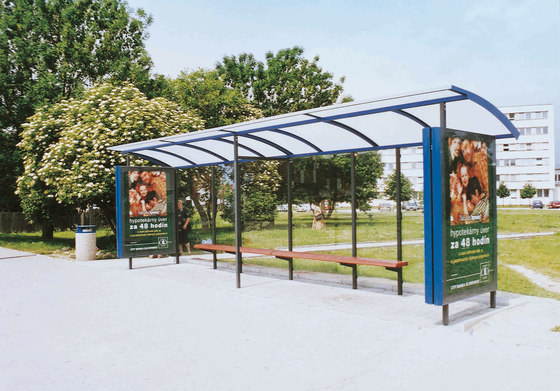 skandum Bus stop shelter by mmcité | Bus stop shelters