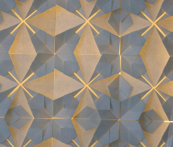 Origamilight by Oliver Kessler | Wall panels