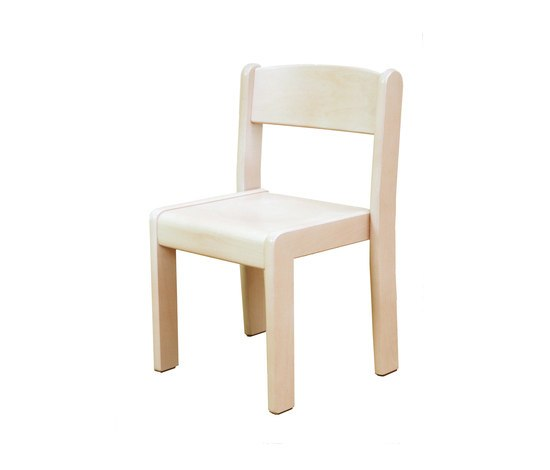 Stacking Chair DBF 840.W de De Breuyn | Zona para niños