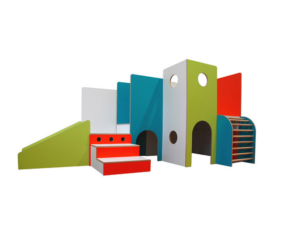 Aire de jeux DBF-725 de De Breuyn | Play furniture