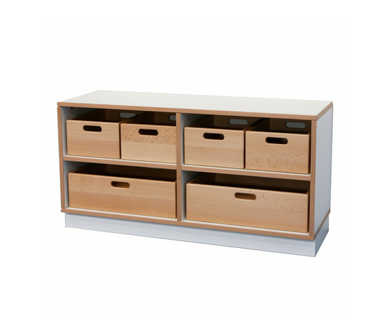 Shelf Unit DBF-602-6-10 by De Breuyn | Children's area