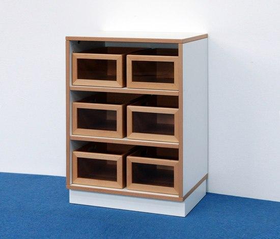 Shelf Unit H 76 DBF 600. by De Breuyn | Children's area