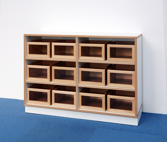 Shelf Unit DBF-604-1-10 by De Breuyn | Children's area