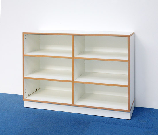 Shelf Unit H 76 DBF 604.W by De Breuyn | Children's area