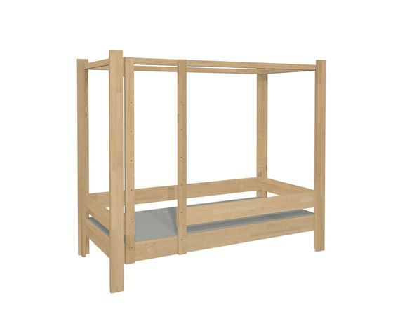 Four Poster Bed DBB-100B de De Breuyn | Kids beds