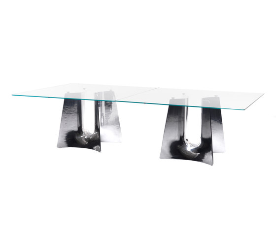 Bentz high square table by Baleri Italia by Hub Design | Dining tables