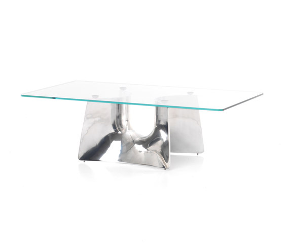 Bentz low rectangular table by Baleri Italia by Hub Design | Lounge tables