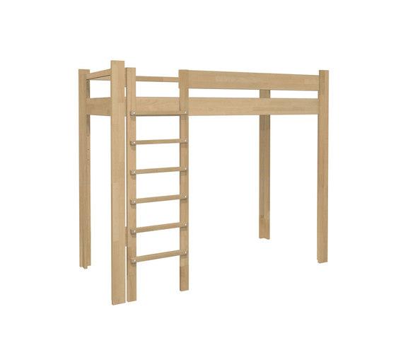 Youth Loft Bed DBB-100B by De Breuyn | Children's beds