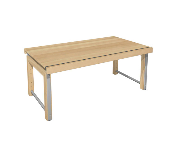 Ziggy desk   DBD-850A-01-01 by De Breuyn | Children's area