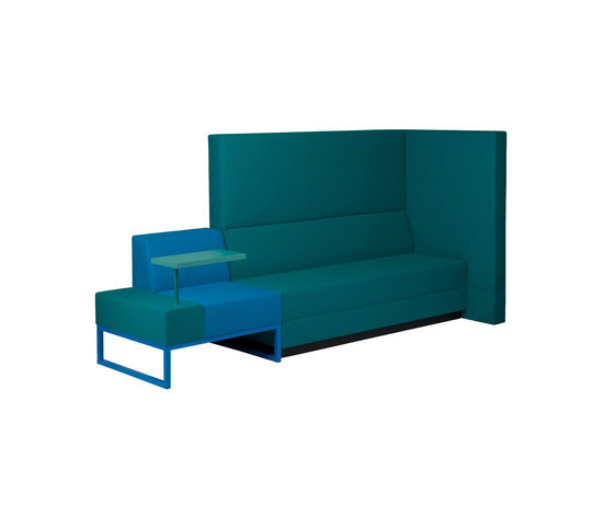 Bricks Sofa by Palau | Space dividers