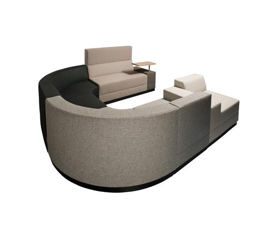 Bricks Sofa by Palau | Lounge-work seating