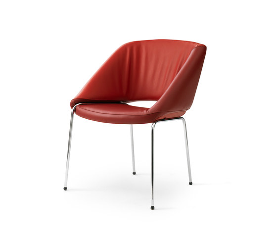 Mobius Chair by Leolux | Visitors chairs / Side chairs
