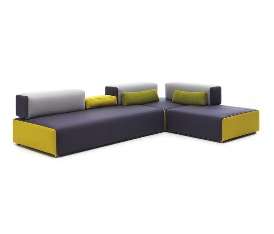 Ponton Corner sofa by Leolux | Modular seating systems