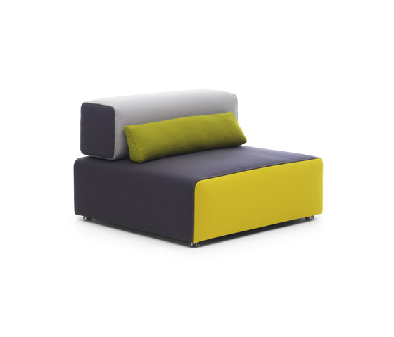 Ponton Armchair by Leolux | Modular seating elements
