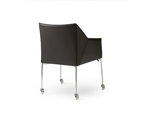 Pyrite Chair by Leolux | Visitors chairs / Side chairs
