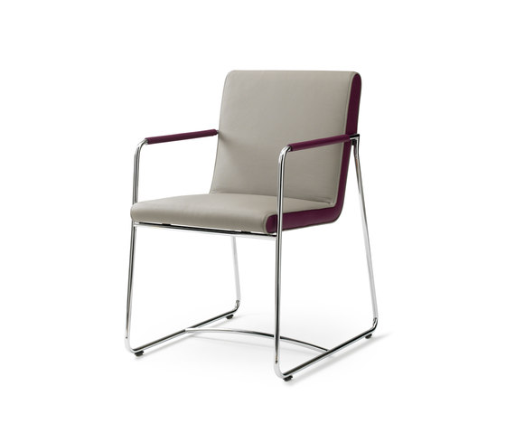 Spring Orchid Chair by Leolux | Visitors chairs / Side chairs