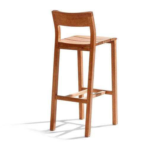 Kos Teak Barchair by Tribù | Bar stools