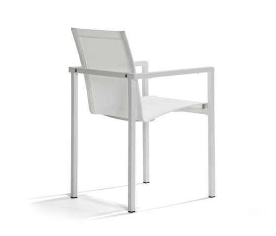 Natal Alu Armchair by Tribù | Garden chairs