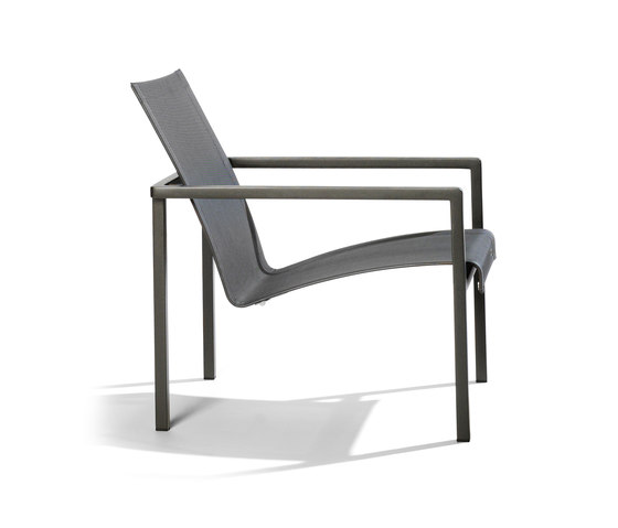 Natal Alu Easy chair by Tribù | Garden armchairs