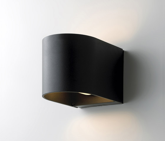 Light U Black by Embacco Lighting | Outdoor wall lights