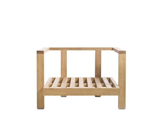 Pure Sofa Armchair Casual de Tribu | Fauteuils de jardin