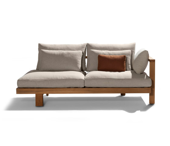 Pure Sofa Meridienne Casual von Tribù | Sofas