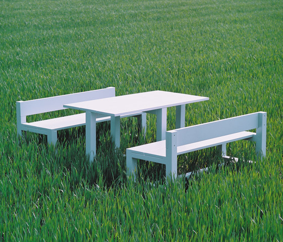 Bench And Table by Feld | Restaurant tables and benches
