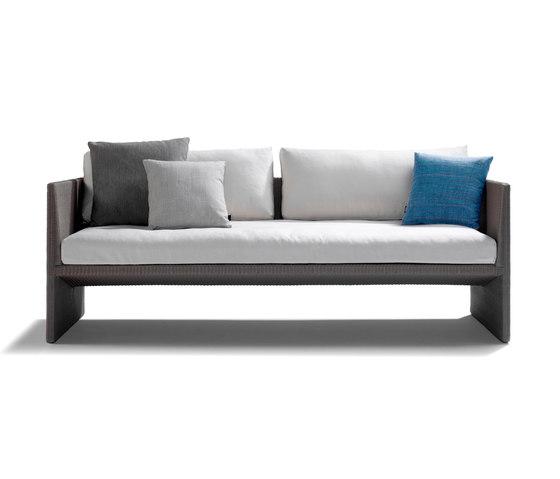 Terra Sofa Cush by Tribù | Garden sofas