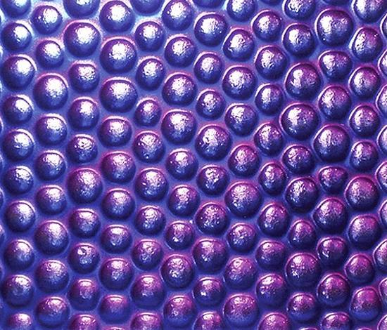 Arabian Nights | Caviar - Opulent Purple by Conglomerate | Decorative glass