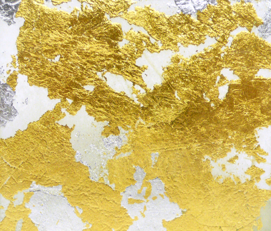 Goldsmith | Gold Silver Leaf by Conglomerate | Decorative glass