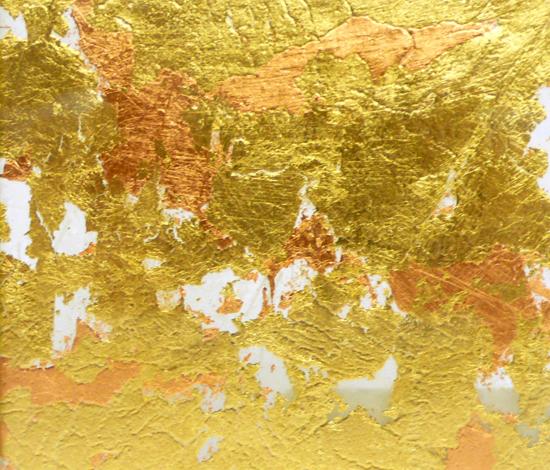 Goldsmith | Gold Copper Leaf de Conglomerate | Verre décoratif