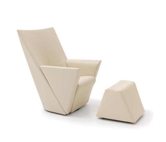 Armilla Armchair & Stool by ARFLEX | Armchairs