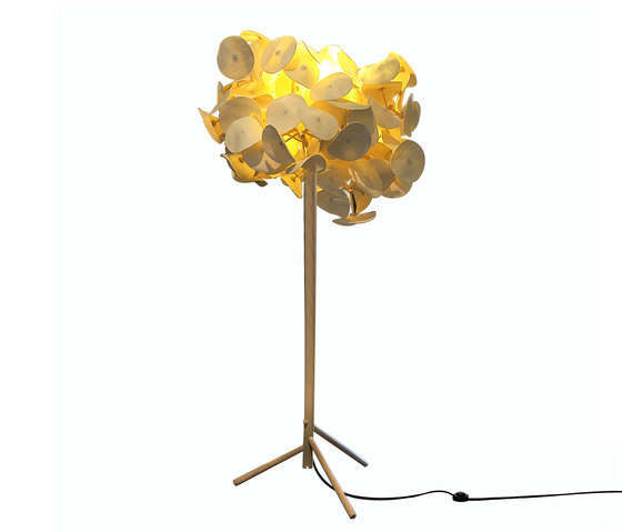 Leaf Lamp Floor 80 di Green Furniture Concept | Illuminazione generale