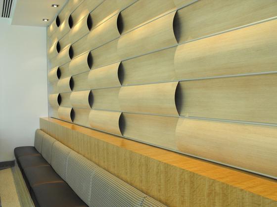 Wave Wall Alternating by Wovin Wall | Wall panels