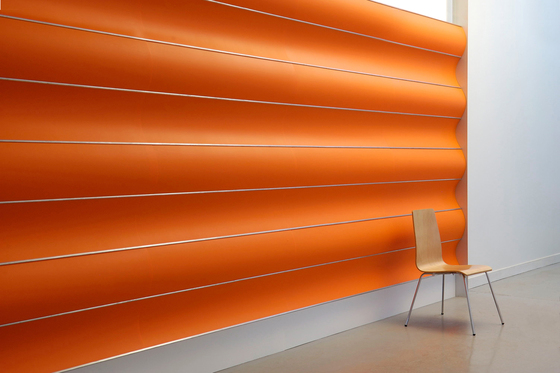 Wave Wall Continious by Wovin Wall | Wall panels