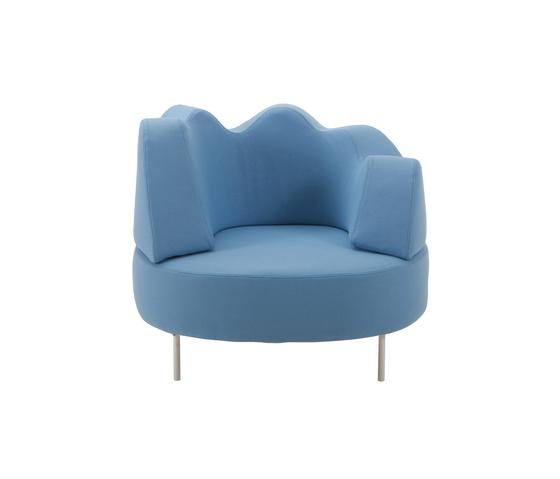 coupole bleue Armchair de Brühl | Sillones