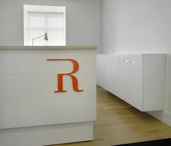 Reception desk by Designoffice | Counters