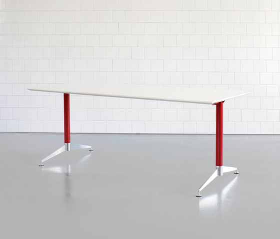 DO1200 Table system by Designoffice | Canteen tables