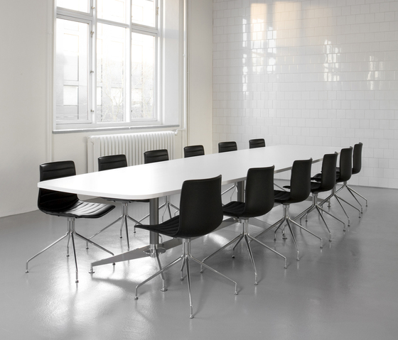 DO1100 Meeting system by Designoffice | Conference tables