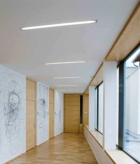 pure recess light ceiling de planlicht | Iluminación de empotrado de techo