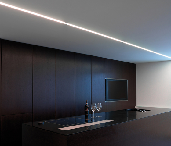 p.series recess light ceiling by planlicht | Recessed ceiling strip lights